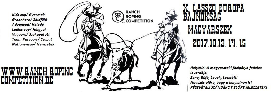 10th European Ranch Roping Competition in Ungarn